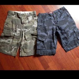 Boys Camouflage cargo shorts